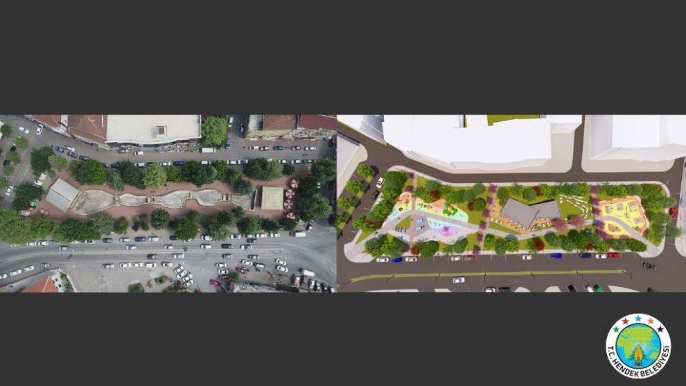 Parkın mevcut hali ve projesi