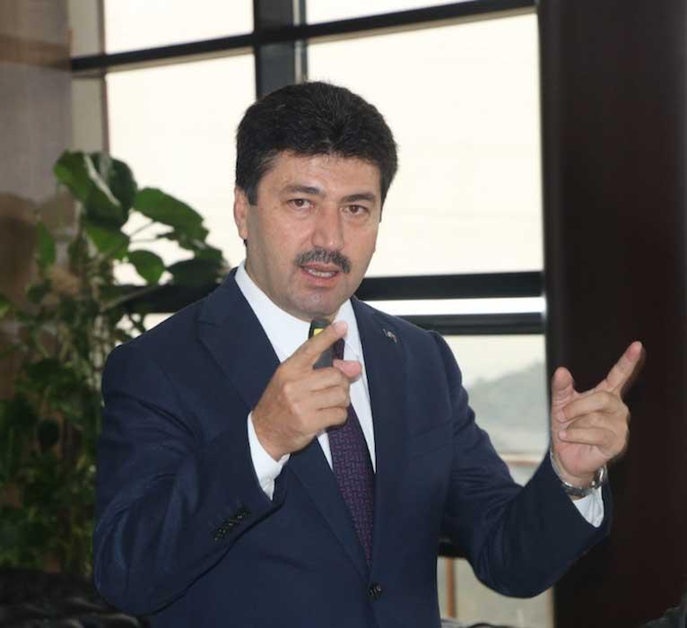 SUBÜ Rektörü Prof. Dr. Mehmet Sarıbıyık