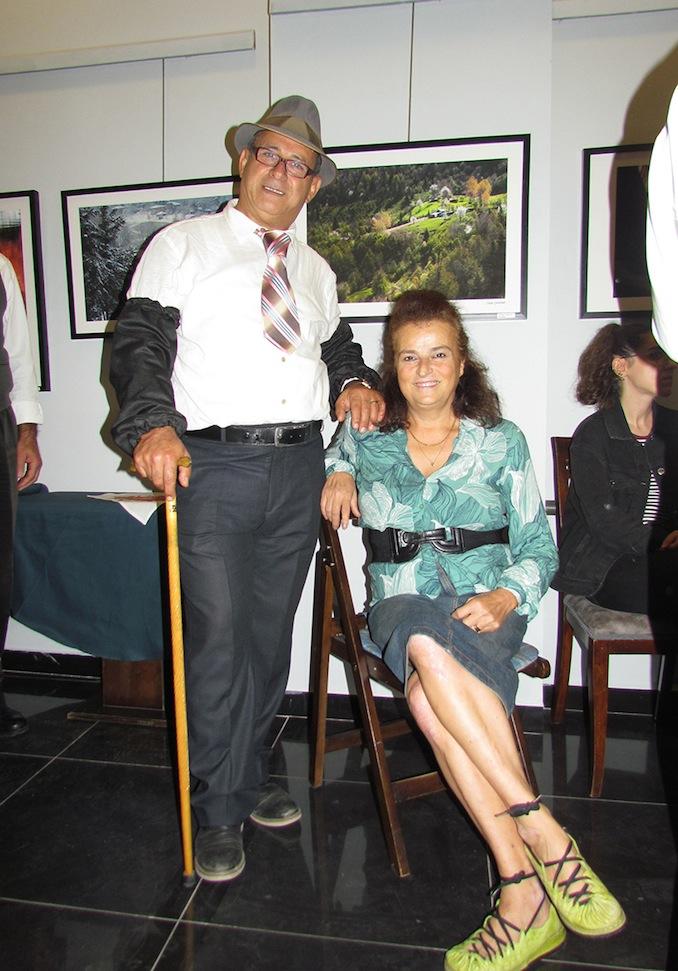 İlhan Abdi Salur, etkinliğin konseptine uygun kostümüyle konukların beğenisini aldı