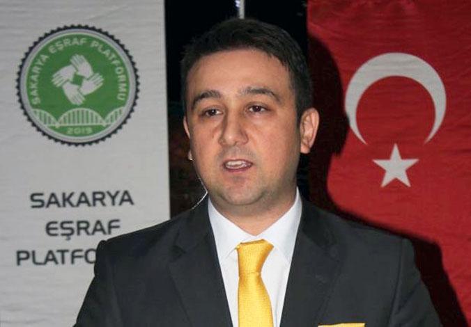 Sakarya Eşraf Platformu Başkanı Faruk Kır