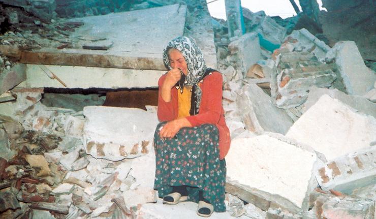 Deprem son bakış